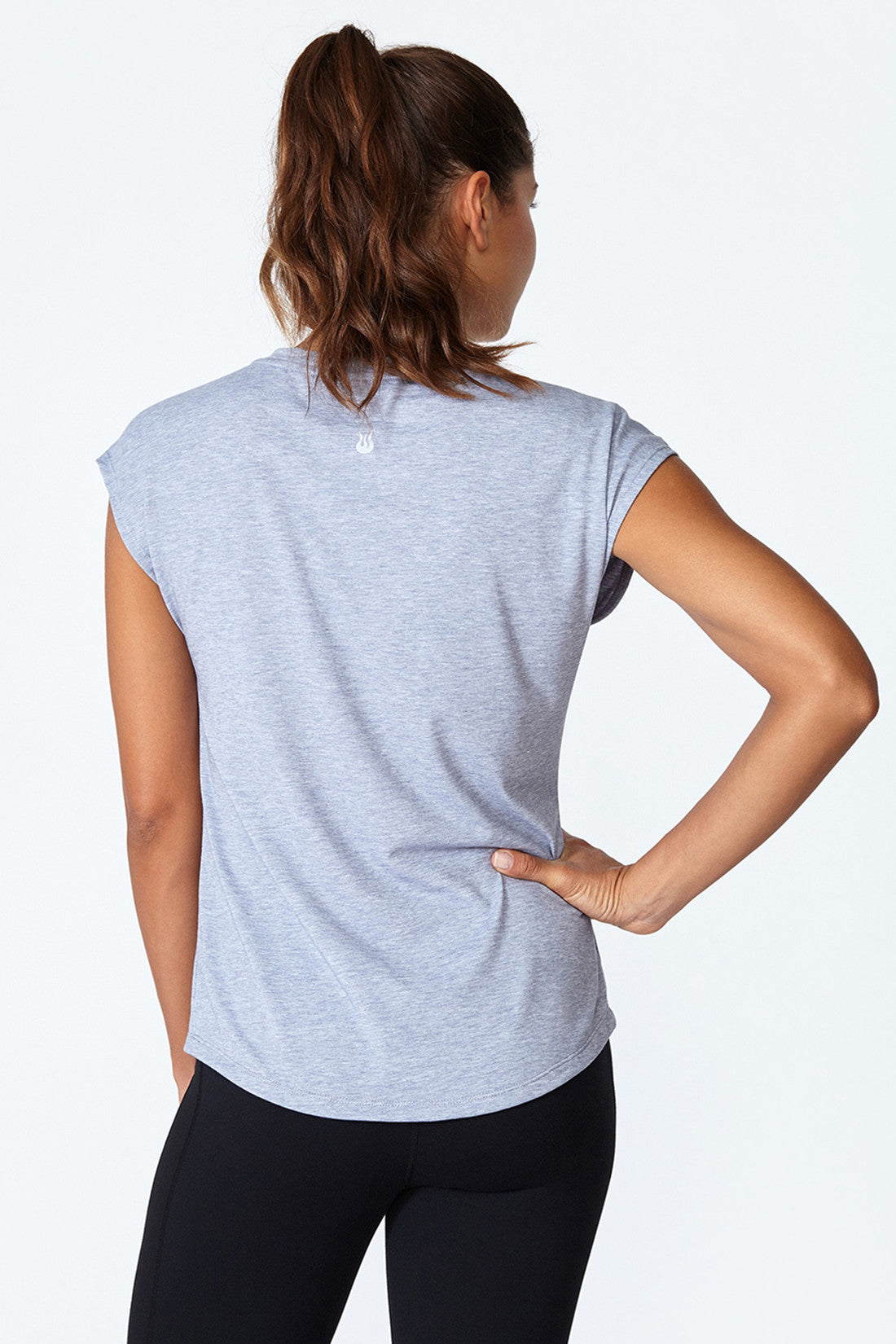 Morgan Tee - Grey Heather