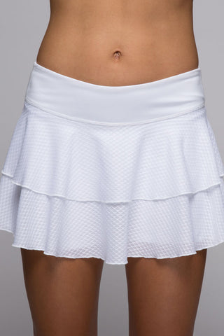 "Peak Skort 12"" - Bright White"