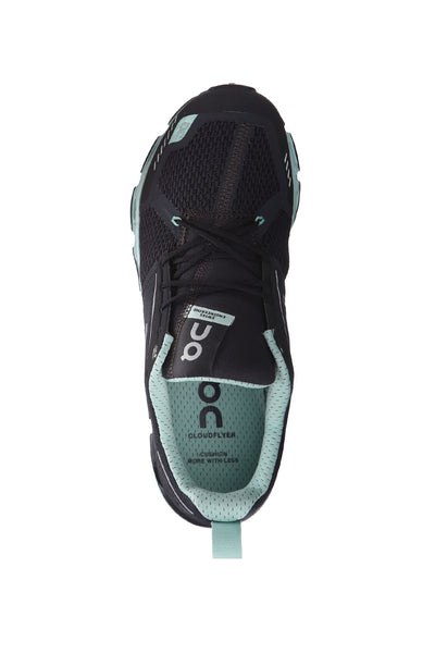 Long runs, extra cushion, lightweight, skin-like, stable, best performance shoes, Women's ON Cloudflyer - Grey Jade