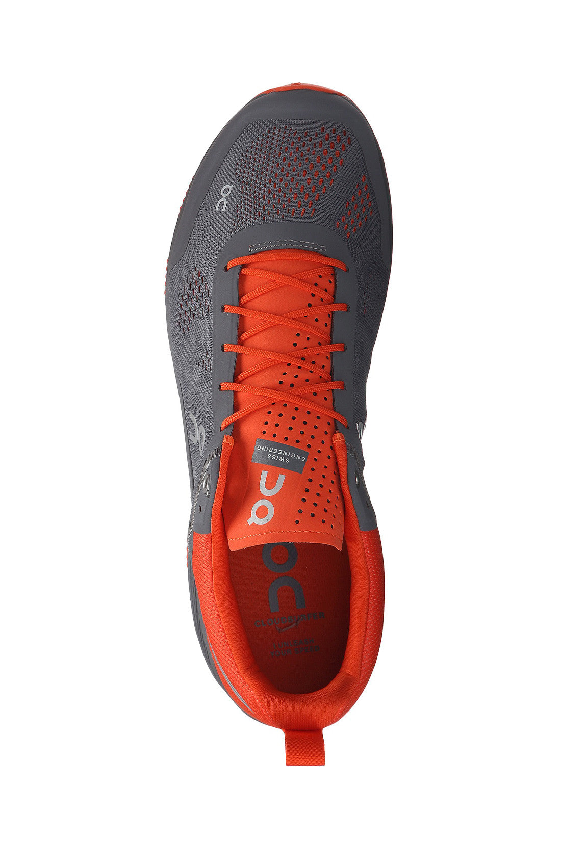 Support, fast, breathable, swiss engineering, running, ultra light, Men's ON Cloudsurfer - Rock Orange
