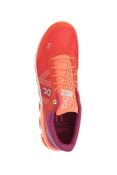 Swiss engineering, best performance shoes, breathable, spin class, Women's Cloudflow Running Shoe - Spice Flash