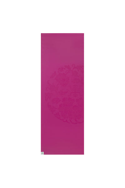 Studio Select Dry-Grip Travel Yoga Mat - Sangria