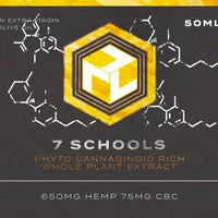 7 SCHOOLS  PHYTO CANNABINOID RICH WHOLE PLANT EXTRACT