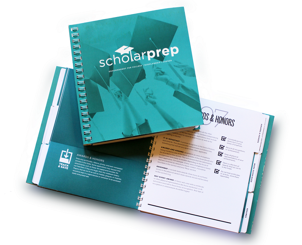 ScholarPrep Organizer - Portfolio Edition [will ship in December]