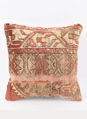 Hand Knotted Turkish Cushion Cover