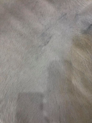 Exquisite Natural Cow Hide  Beige /White