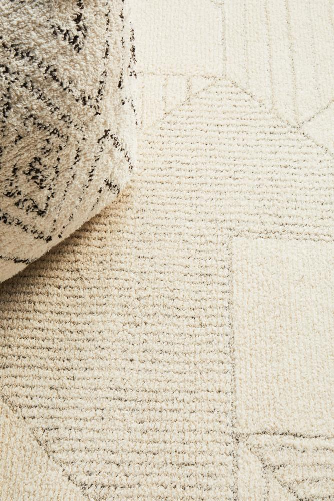 Almeria Soft Natural Modern Rug