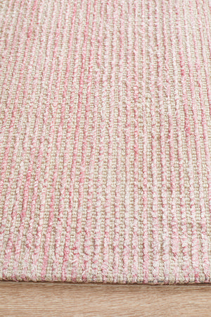 Kiya  Hand Loomed Rose Rug