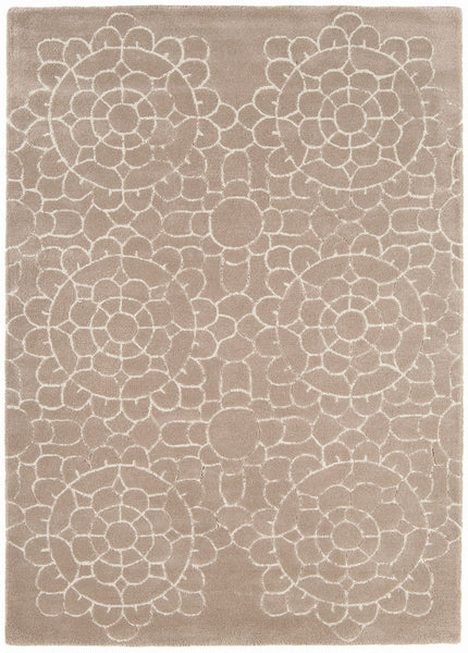 Asiatic Crochet Beige Rug - aladdinrugs - 1