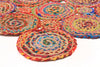 Atrium Amilia Cotton and Jute Rug Multi
