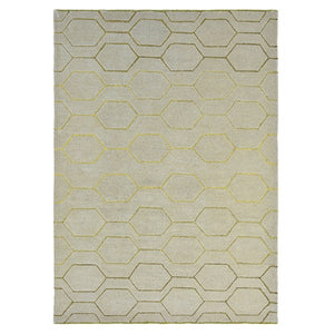 Arris rugs 37304 in grey and gold by wedgwood