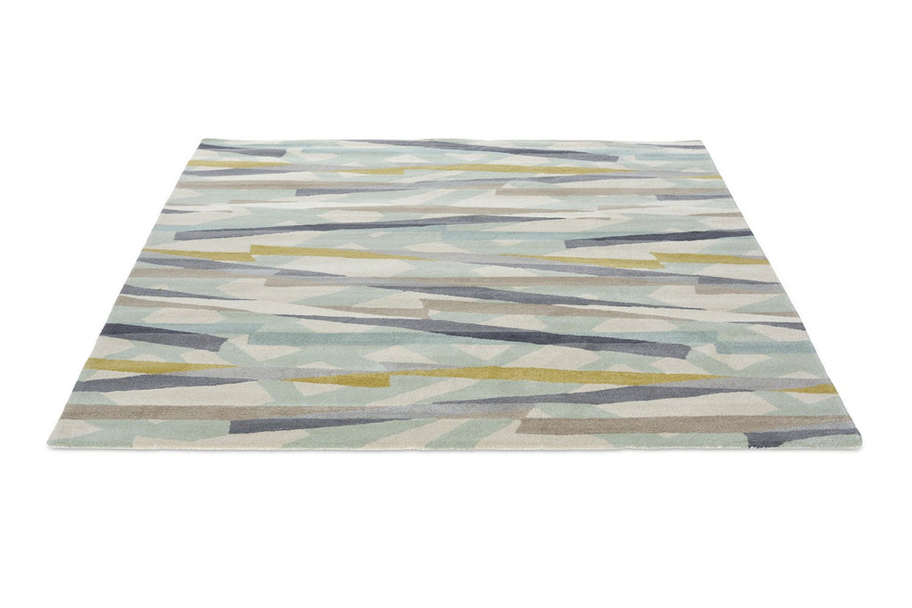 Diffinity Contemporary Wool Rugs 14006 Topaz by Harlequin