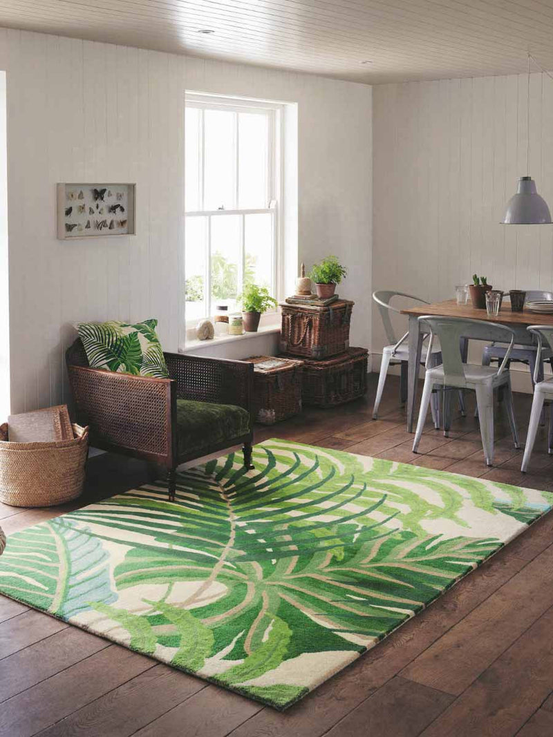 Sanderson Manila Green 46407 - aladdinrugs - 1