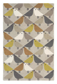 Scion lintu rugs 24405 in dandelion