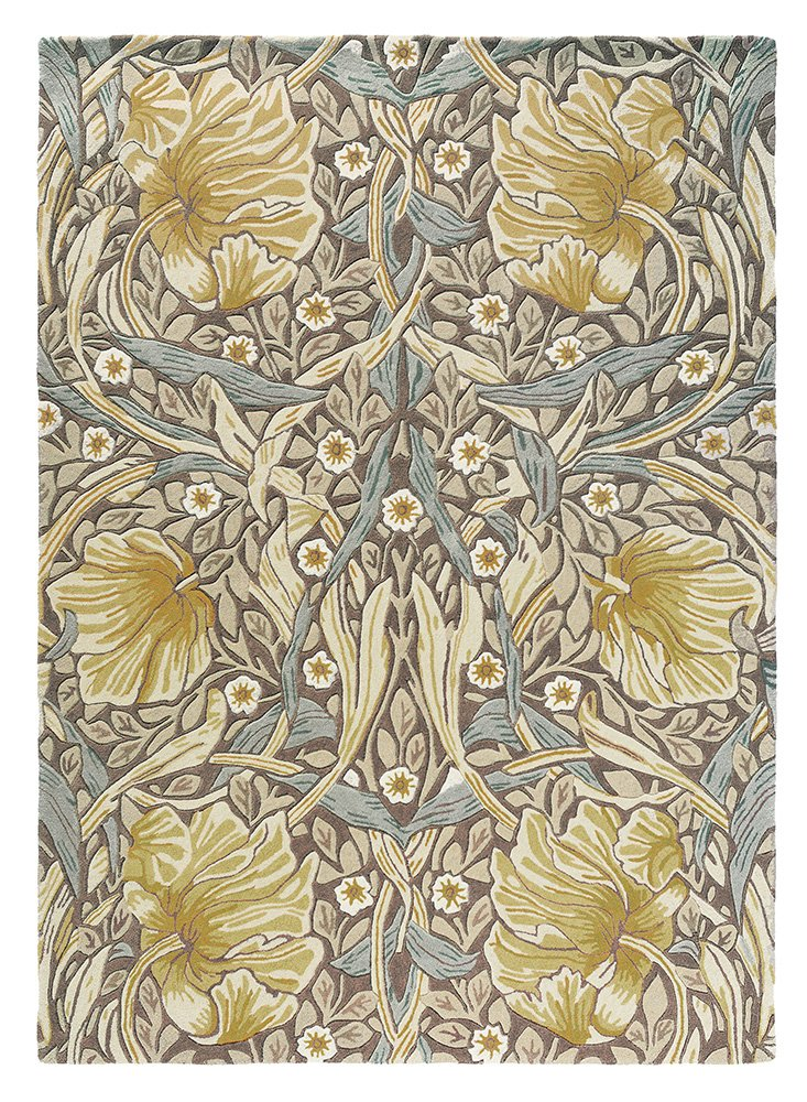Pimpernel Rugs 028808 Bullrush by William Morris