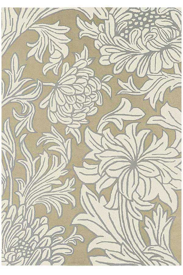 Morris & Co Chrysanthemum Sisal Canvas 27001 - aladdinrugs