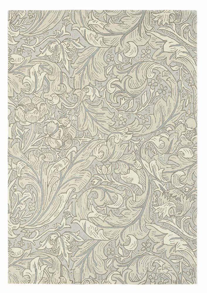 Bachelors button rugs 28209 in linen by william morris