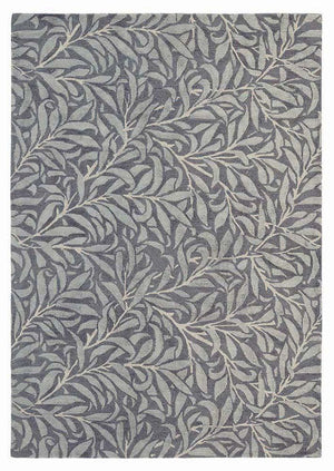 Willow bough rugs 28305 in granite by William Morris