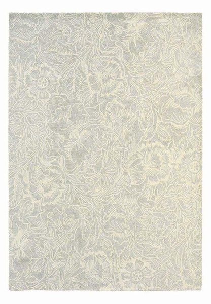 Poppy rugs 28409 in cream by william morris