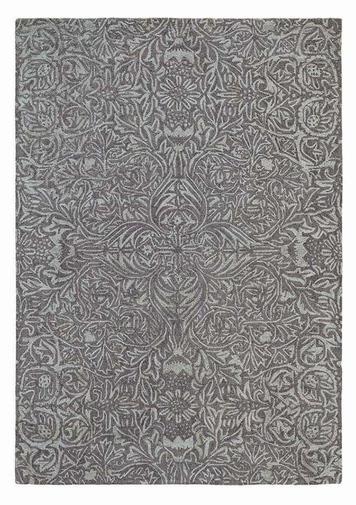 Ceiling rugs 28505 in charcoal by william morris