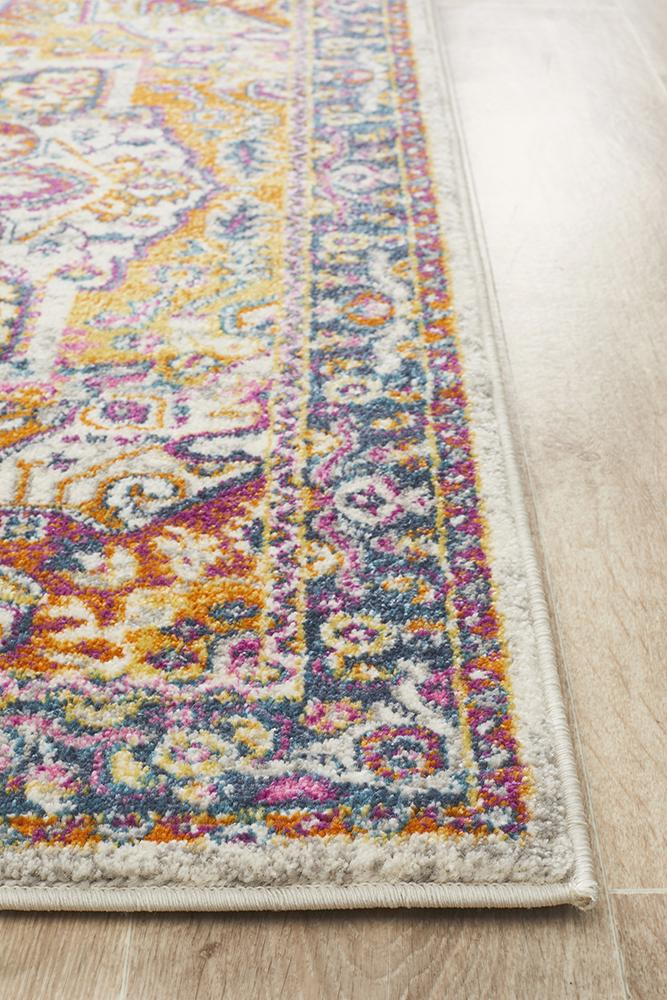 Seda Vintage Look Multi Runner Rug