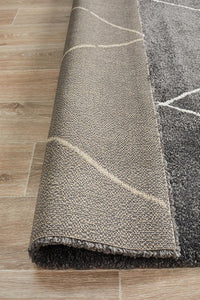 Adina Haleh Diamond Charcoal Rug