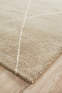 Adina Haleh Diamond Natural Rug