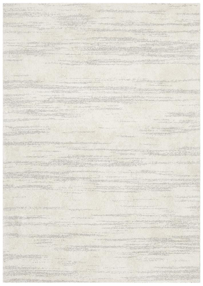 Adina Sally Contemporary Silver Rug