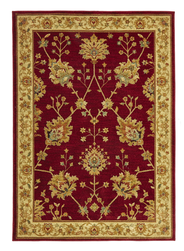 Byblos Classic Chobi Design Red Rug - aladdinrugs - 1