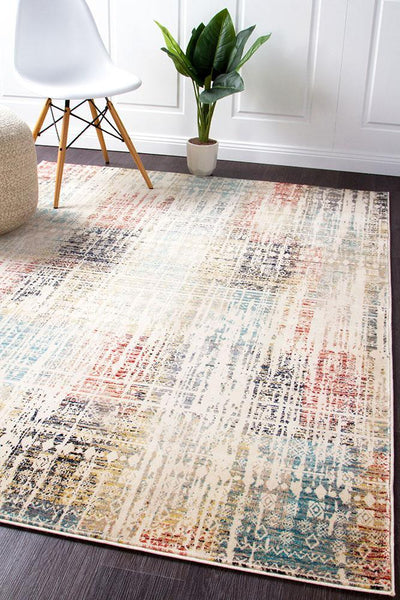 Cascade Moonlight Lustrous Multi Rug