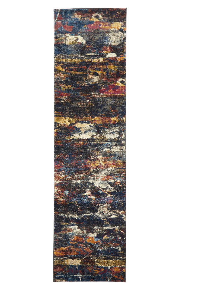 Splash Modern Midnight Runner Rug