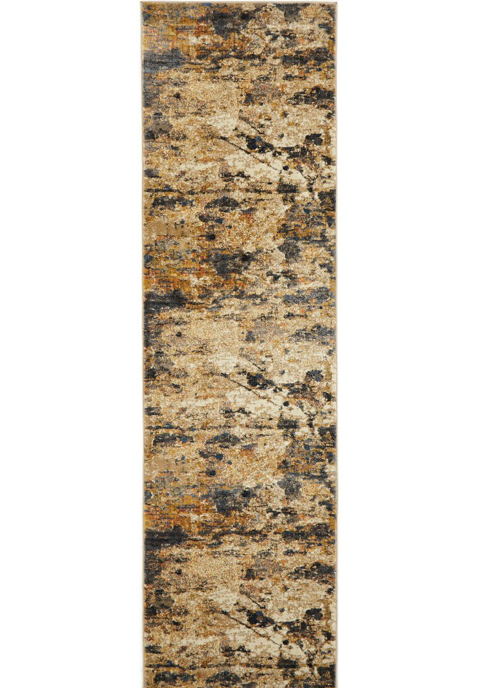 Tribute Modern Rust Runner Rug