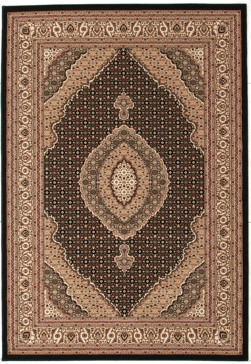 Rug Culture Empire ARK Black Rug - aladdinrugs - 1