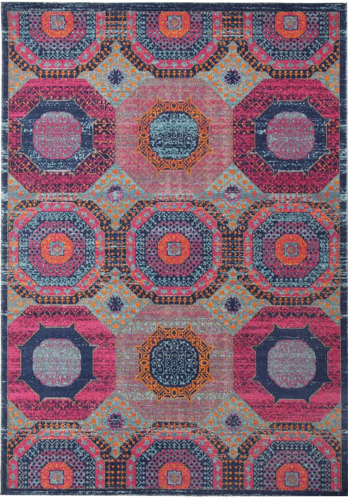 Whisper Dots Multi Rug