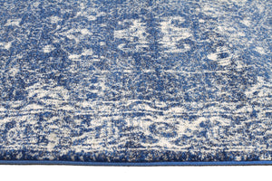 Esme Oasis Navy Transitional Runner Rug