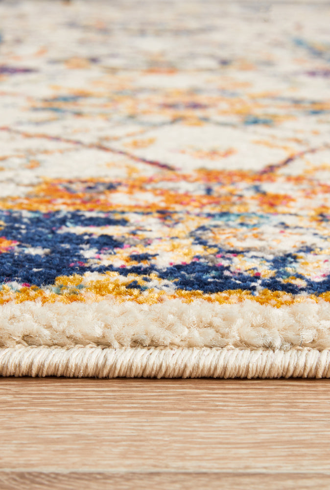 Esme Peacock Ivory Transitional Rug