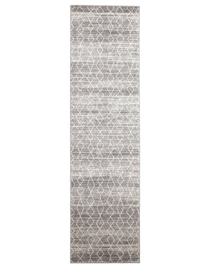 Esme Remy Silver Transitional Runner Rug