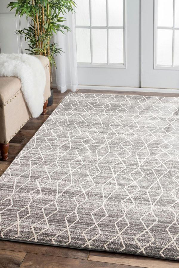Esme Remy Silver Transitional Rug