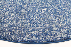 Esme Artist Navy Transitional Round Rug