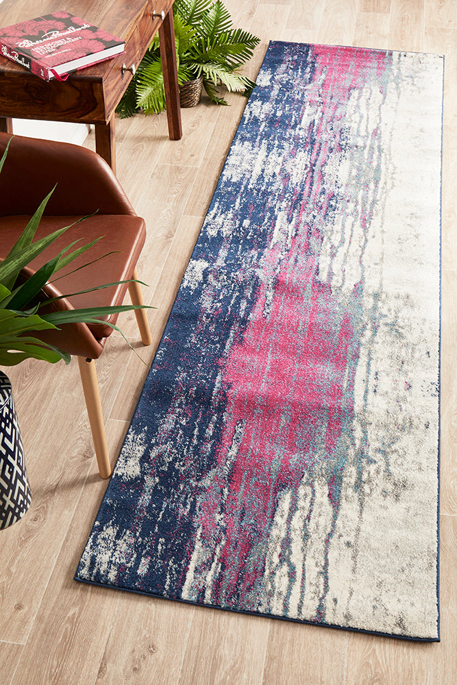 Esme Sediment Transitional Runner Rug
