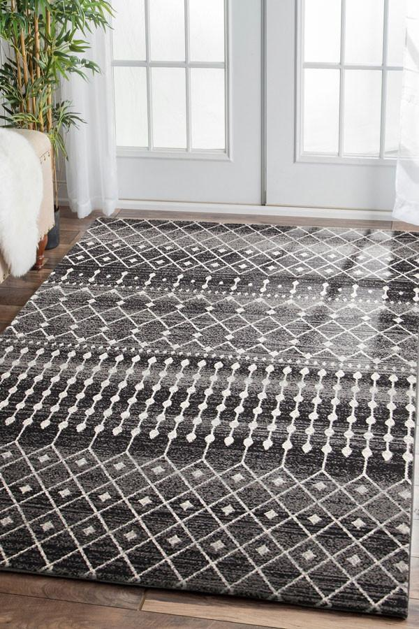 Esme Simplicity Black Transitional Rug