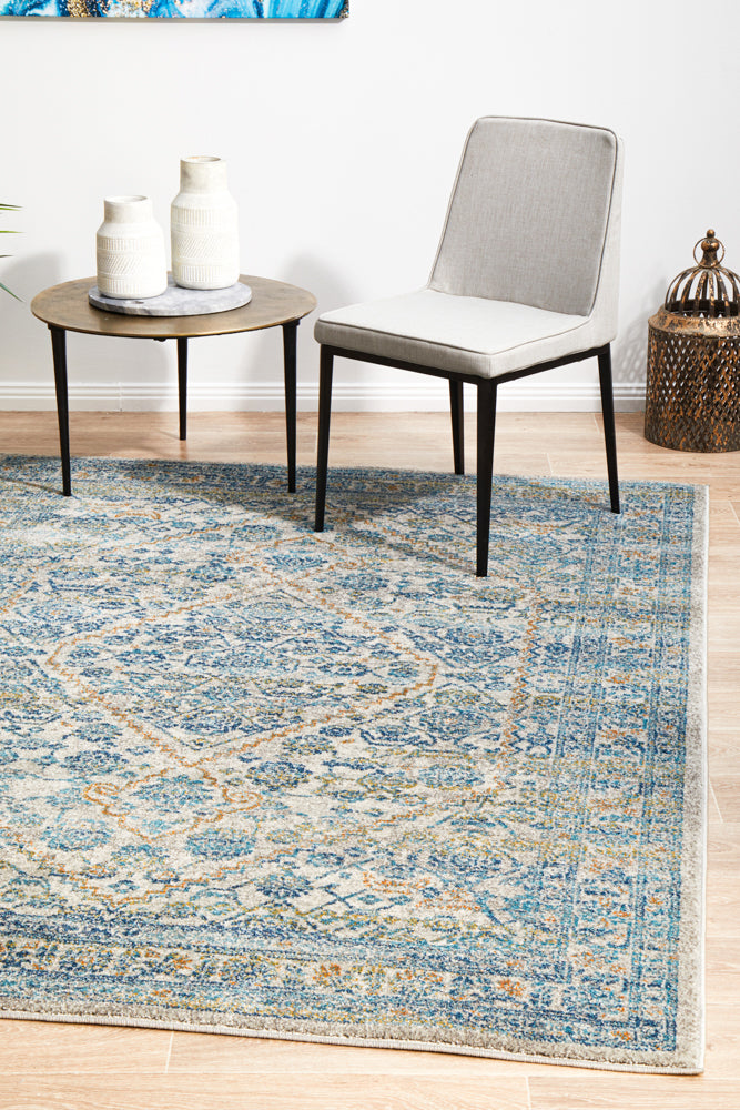 Esme Duality Silver Transitional Rug
