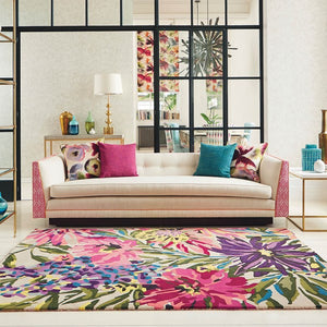 FLOREALE RUGS 44905 IN FUSCHIA