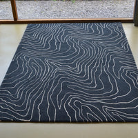Formation rugs in moonlight 40805 by harlequin