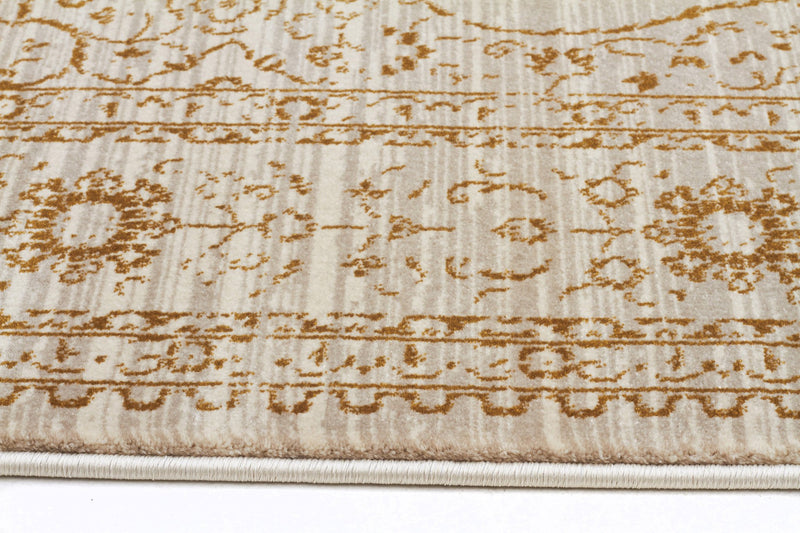 Kings Court Designer Rug Ivory Beige