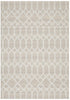 Krisha Tribal Trellis Rug Natural Beige