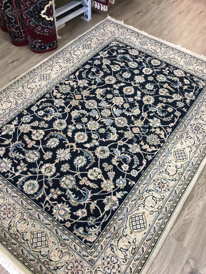 HAND KNOTTED PERSAN DESIGN RUG 241X171 CM