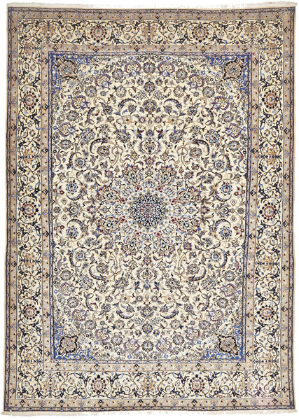 Persian Hand Knotted Fine Naein 353X254 CM