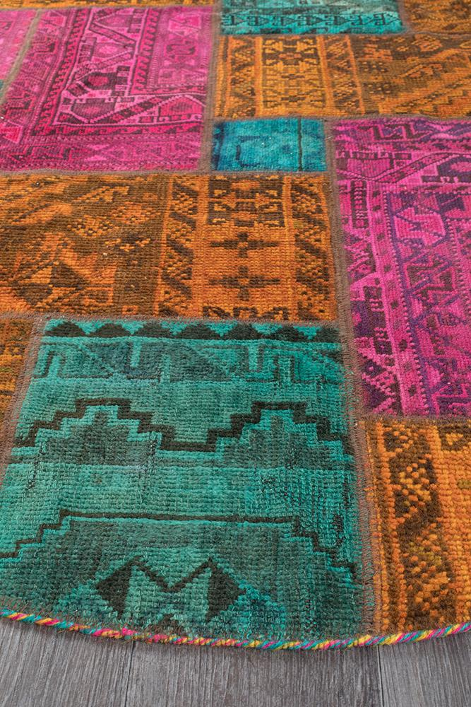 Persian Handnotted Patchwork - 150X150CM