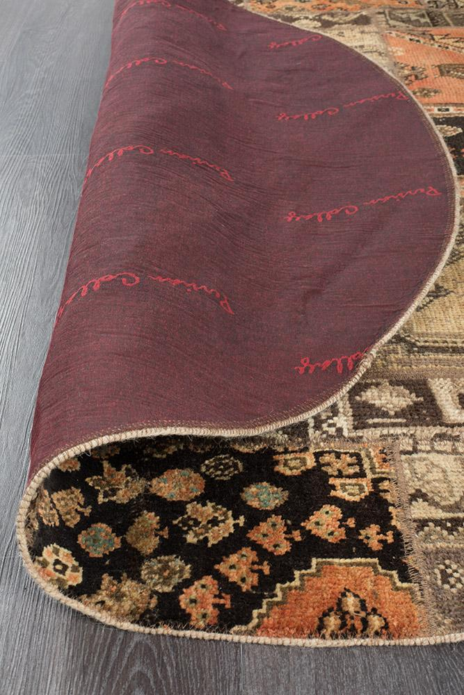 Persian Handnotted Patchwork - 148X148CM